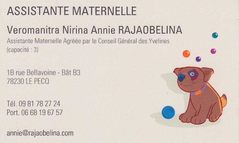 Assistante Maternelle Le Pecq Yvelines